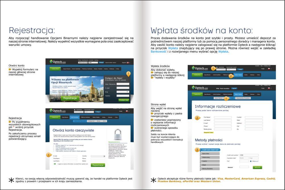 Ebook któy otrzymamy zakładając konto jest całkowicie po Polsku. Powyżej prezentujemy 1 stronę z ebooka do sprawdzenia jak intuicyjnie jest on napisany.